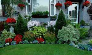 Как красиво посадить цветы в палисаднике перед домом: идеи для ландшафтного дизайна – 46 фото